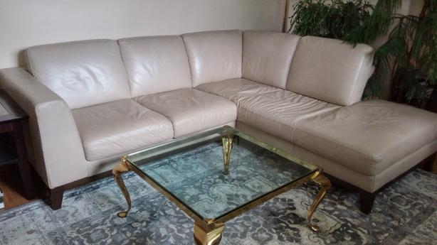 Natuzzi (ItalSofa) Leather Sectional