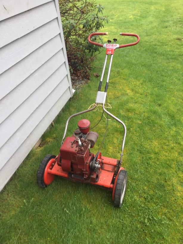 toro reel lawn mower