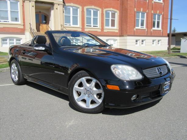 2001 Mercedes-Benz SLK230 Roadster, Low Kms!