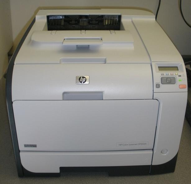 HP CP2025 Colour Laser Printer- $60