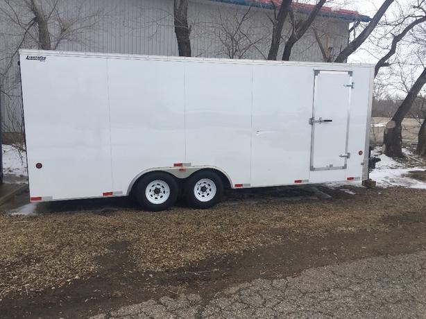 20ft cargo trailer