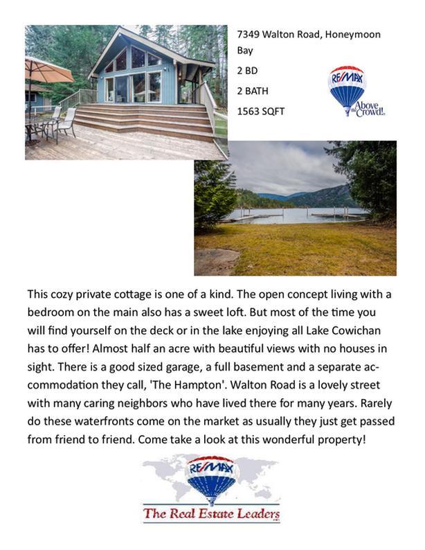 Lakefront property! 7349 Walton Road