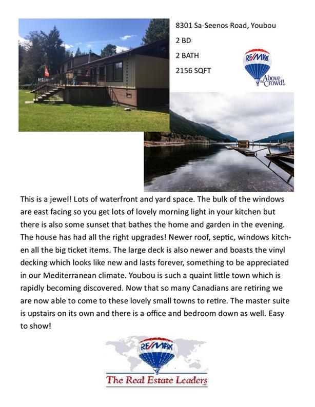 Waterfront Property! 8301 Sa-Seenos Road