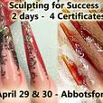 Sculpting for Success - 4 Certificate course PROFESSIONALS ONLY