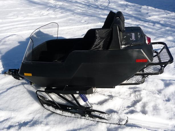EQUINOX DELUXE OPEN SNOW COACH