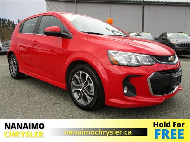 2017 Chevrolet Sonic LT Turbo One Owner No Accidents