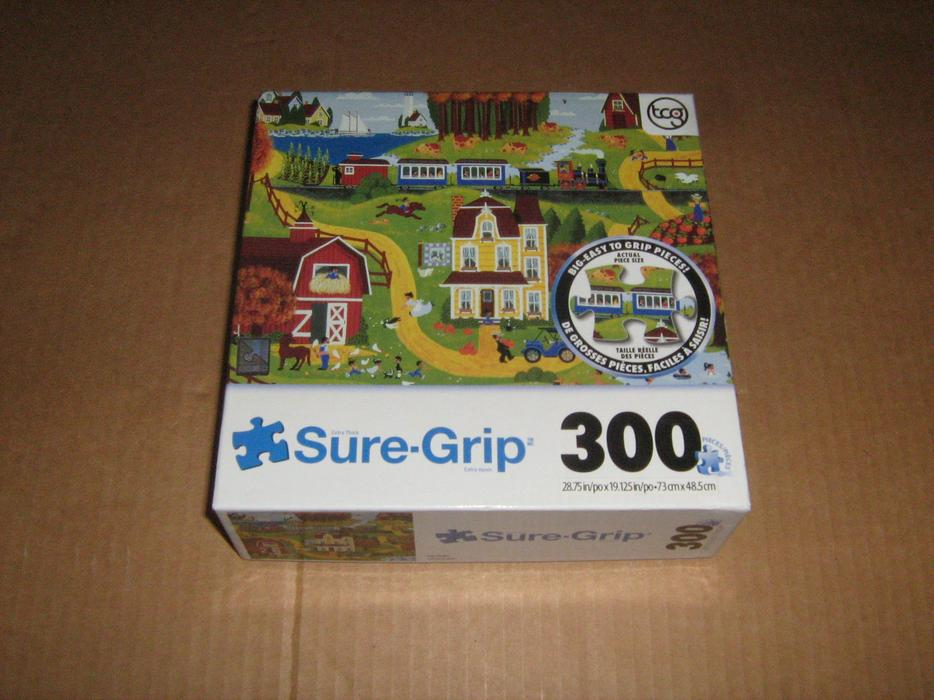 EASY GRIP 300 PIECES JIGSAW PUZZLES Gloucester, Ottawa