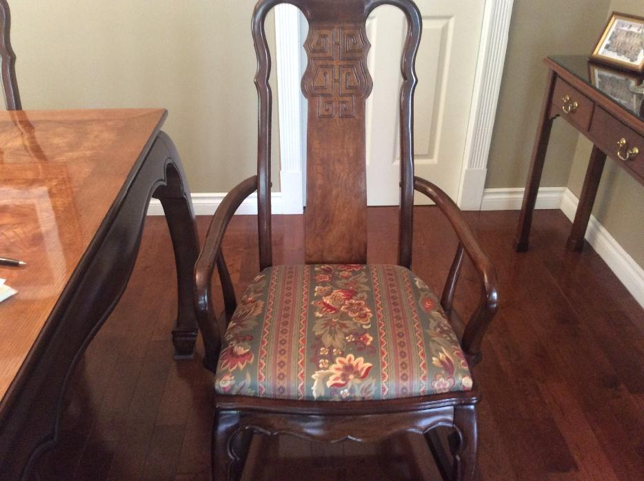 Imperial Dynasty Dining Room Table And 8 Chairs Saanich