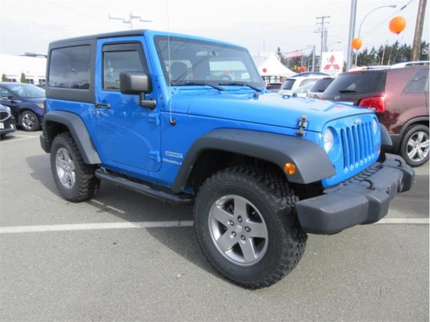 2011 Jeep Wrangler Sport 4x4 Tow Pkg Fun in the Mud