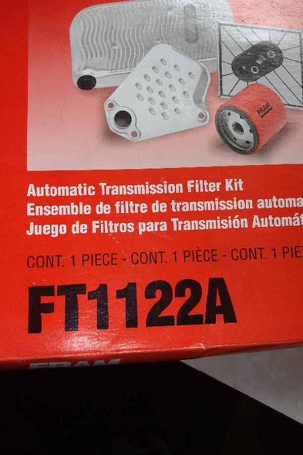 caravan 90s to late 2000s automatic transmission filter kit
