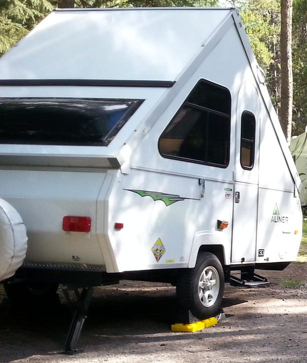 $17,000 · 2015 Aliner Ranger 12 with Off Road Package (a-frame camper)