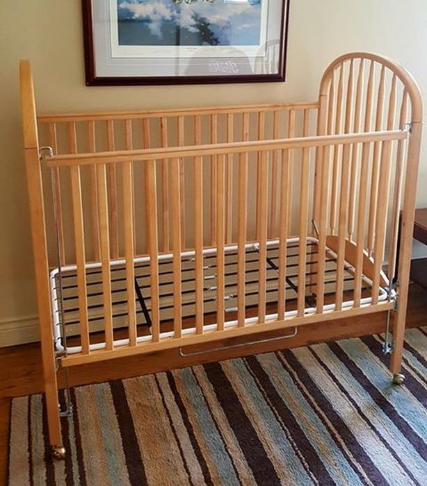Solid Birch crib