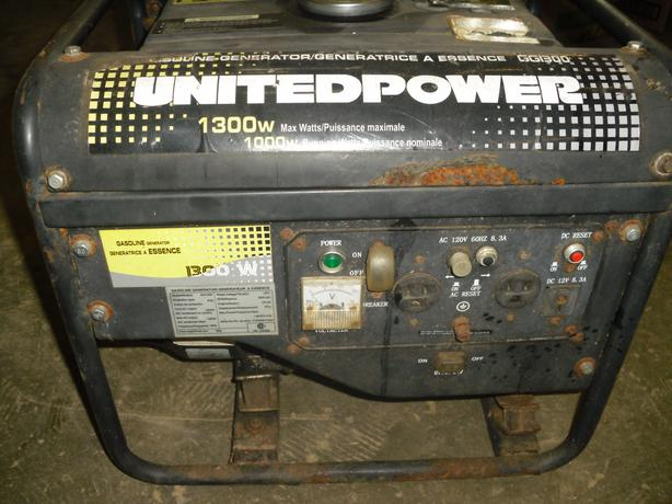 1300 watt generator for sale