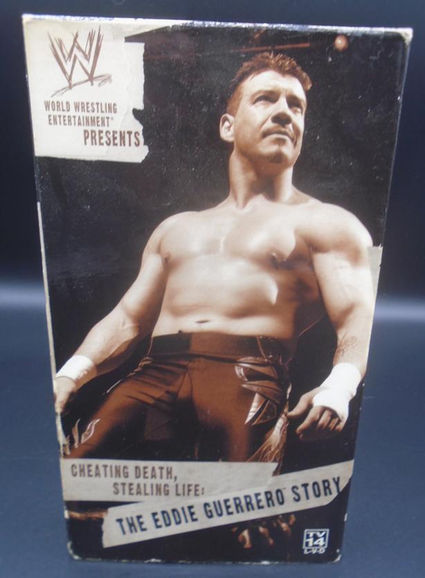 WWE THE EDDIE GUERRERO STORY VHS MOVIE