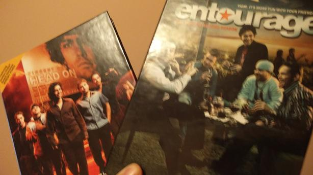 Entourage: Complete First and Second season DVD boxed set