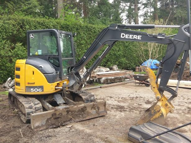 Excavator for hire up to 25% off