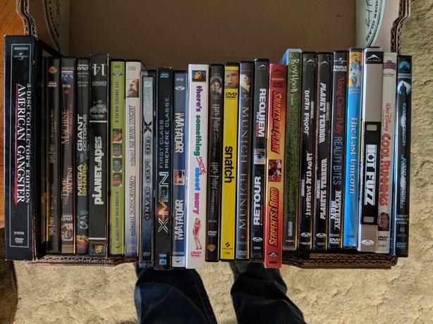 24 Assorted DVDs