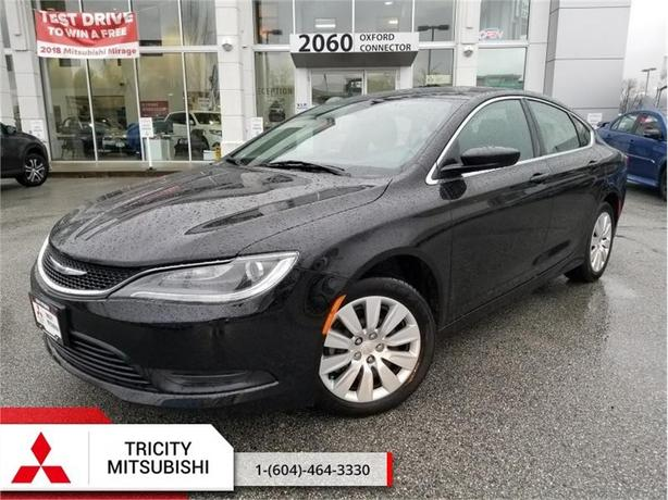 2016 Chrysler 200 LX  - CYLINDER SEDAN, CLEAN WITH A/C