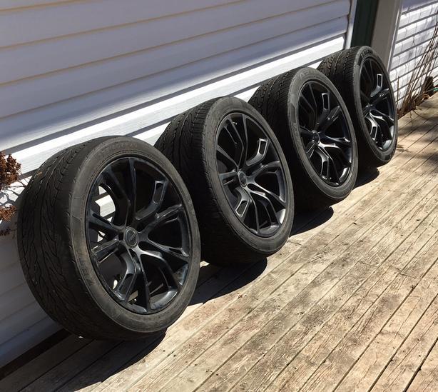 20 inch Zeta summer tires on ART rims