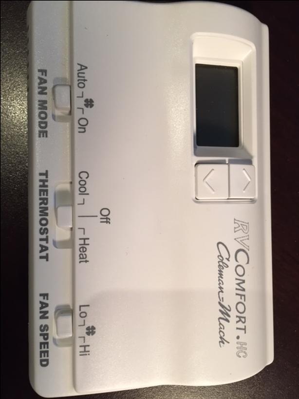 RV Digital Thermostat