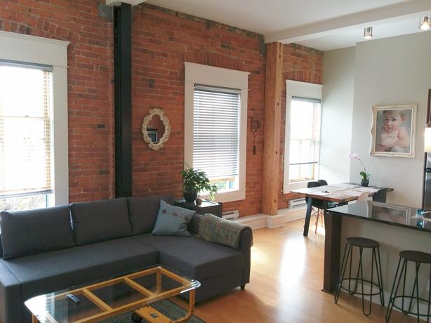 Historic Loft Conversion right Downtown, 2 weeks July 24-Aug 5 for $1950