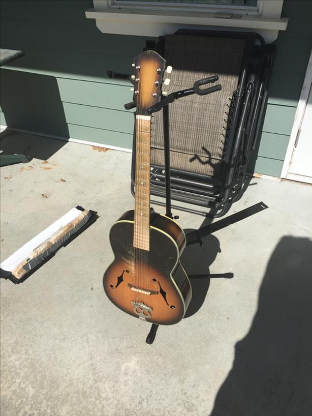 Mid-70's Suzuki P-9 Archtop Acoustic