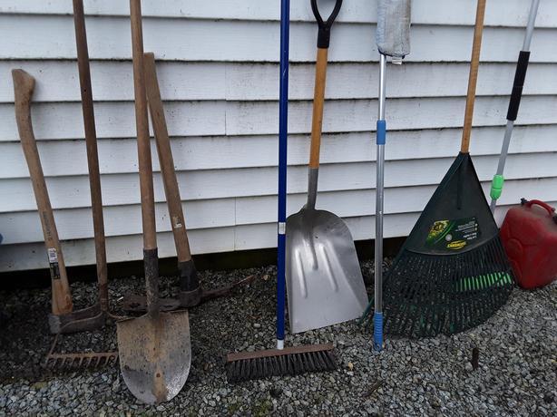 Garden tools etc.