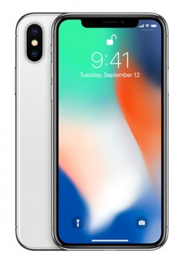 Unopened white iPhone X 64 GB
