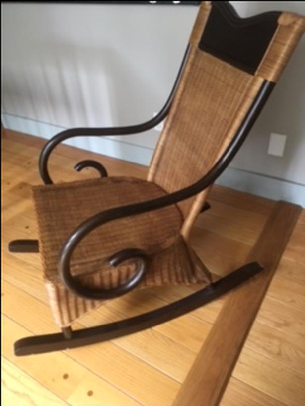 Wicker Rocking Chair