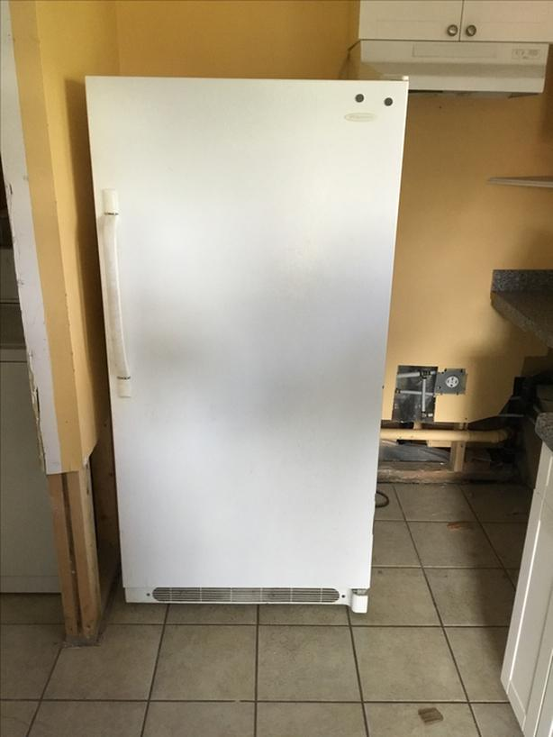 Fridge only and apartment size stove