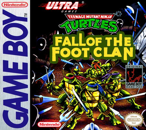 Nintendo Game Boy Fall of the Foot Clan