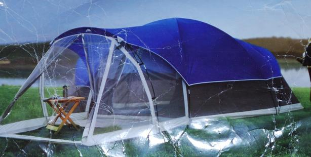 6-7 Person - Ozark Trail Tent about 15' X 8' + Screened Porch