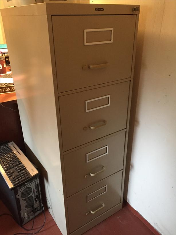 Global 4 draw Filing Cabinet