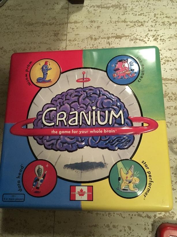 great game cranium