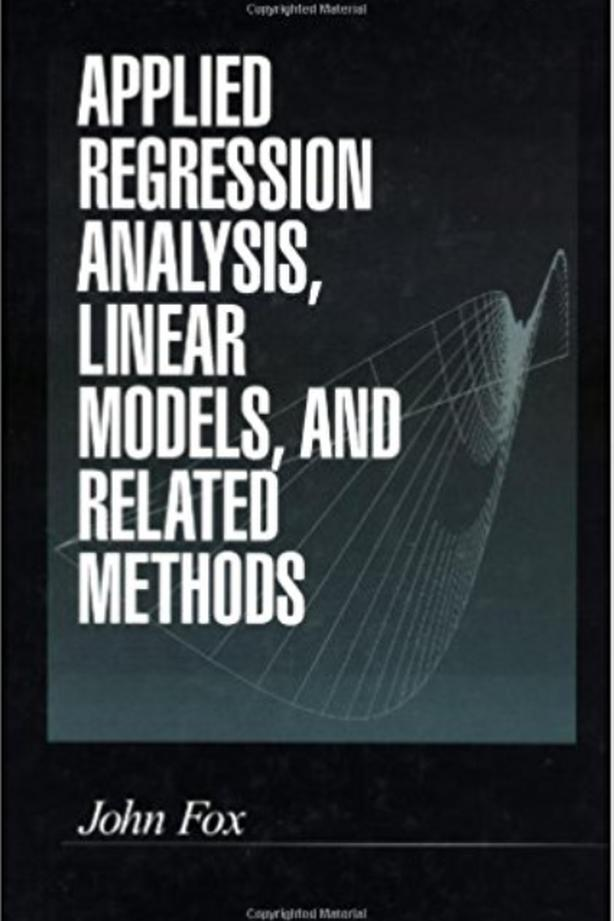 Applied regression analysis, linear models, and related methods