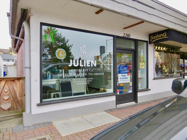 Julien Creperie in Sidney