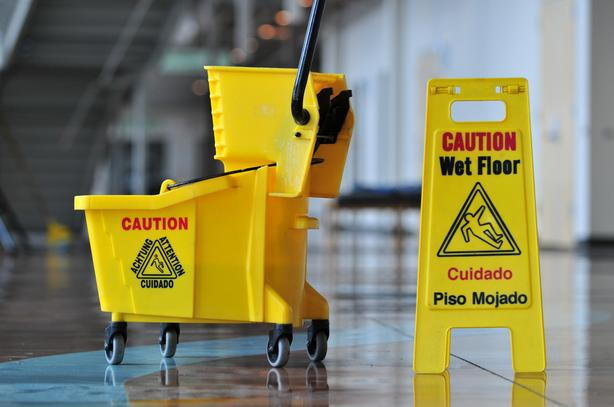Commercial janitorial services available.