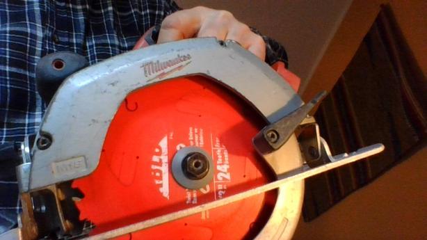 Milwaukee 18 volt 6 1/2 in Circular saw