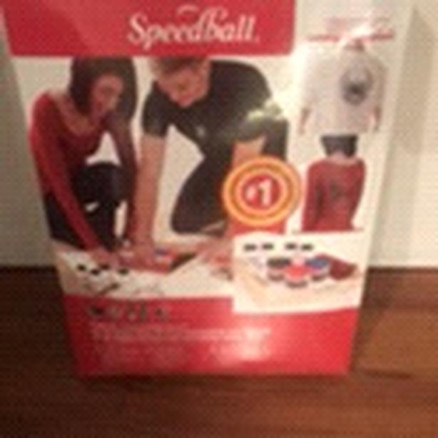Speedball screen printing set