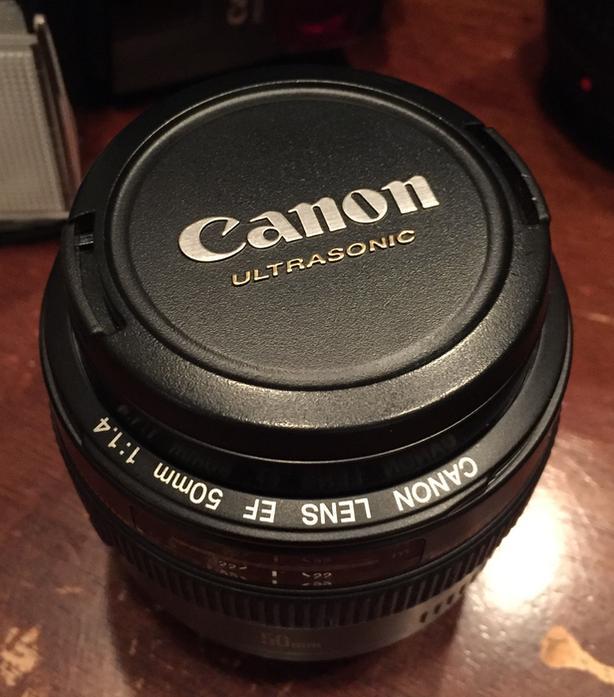 Canon EF 50mm 1.4 AF USM Lens