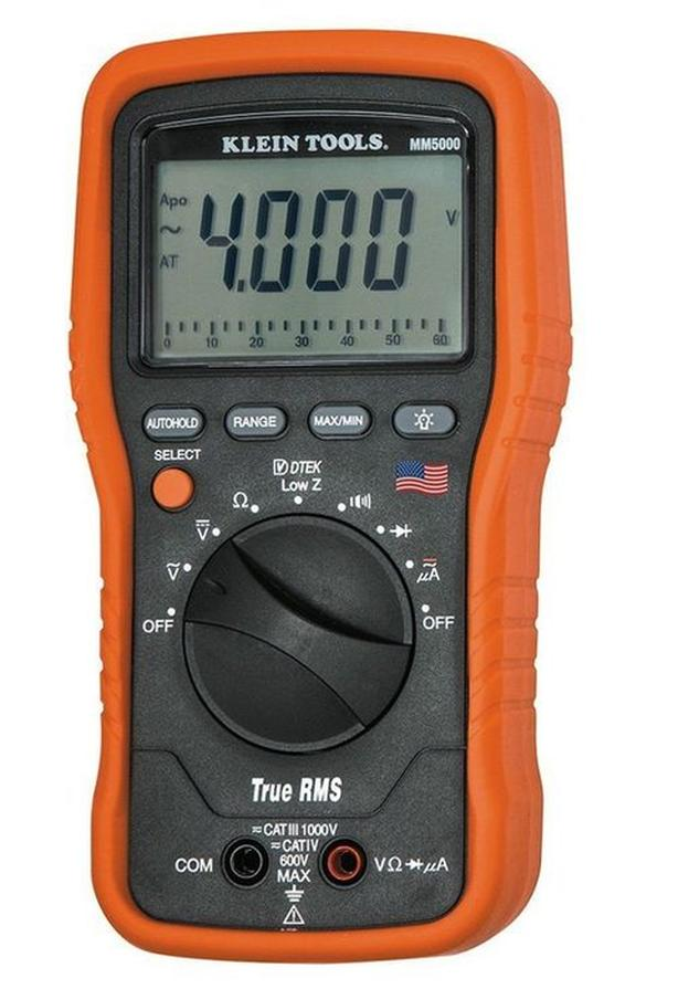 Klein Tools MM5000 TRMS Multimeter