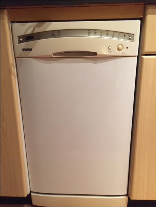 """18"""" dishwasher"""