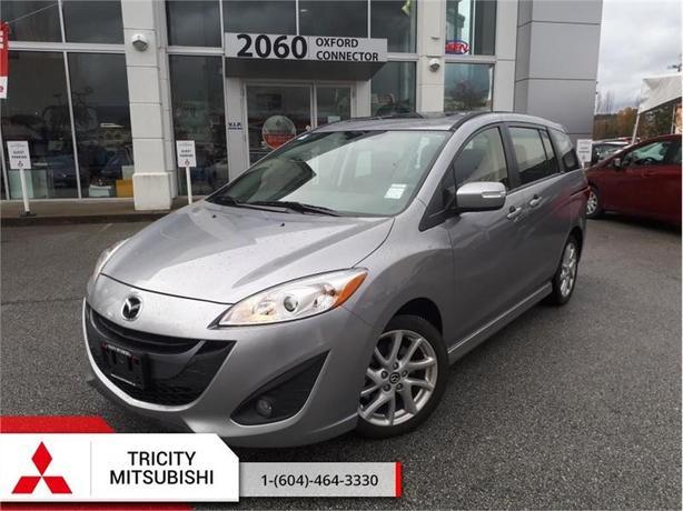 2017 Mazda Mazda5 GT  - LEATHER HEATED SEATS, ALLOY WHEELS, BLUETOOTH