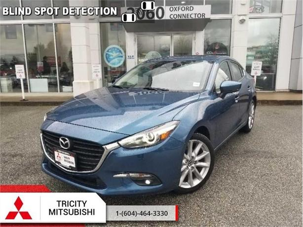 2017 Mazda Mazda3 GT  NAVIGATION -SUNROOF- HEATED SEATS