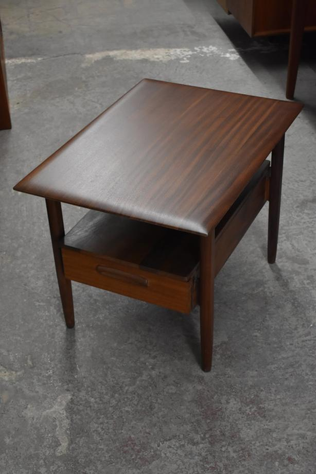 JAN KUYPERS Imperial Stratford AFROMOSIA teak SIDE TABLES