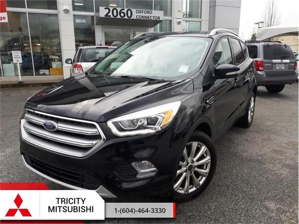 2017 Ford Escape Titanium  - 4X4 NAVIGATION, LEATHER, PANORAMIC ROOF