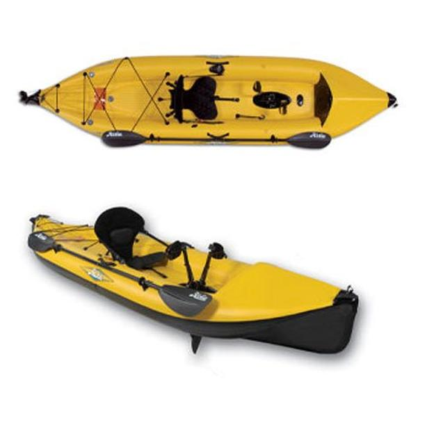 Hobie i12s Inflatable Kayak with Sail and Accessories