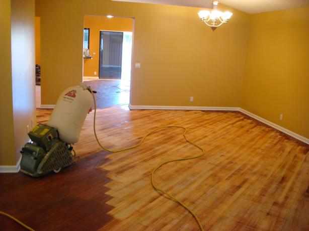 Hardwood Installs/Refinishing