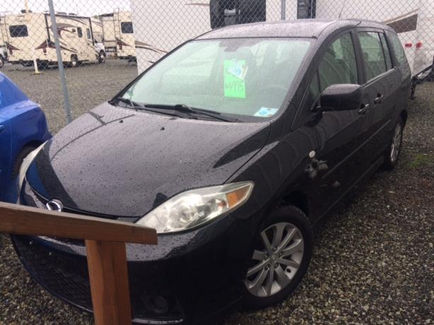 2006 Mazda 5, peppy little runabout, with enough room for all your gear.