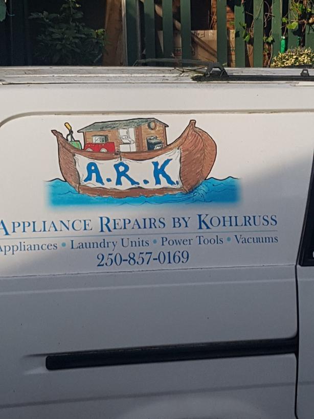 A.R.K. Appliance Repair by Kohlruss